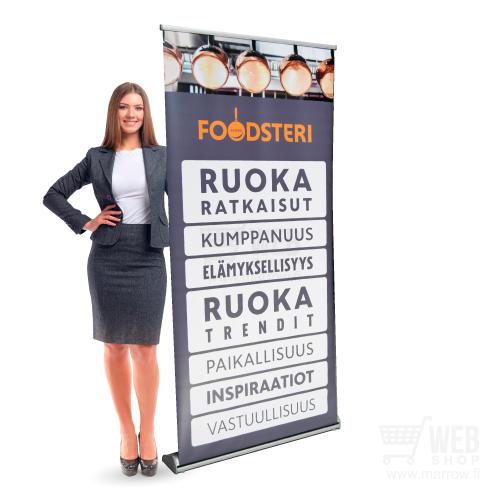 Roll-Up telineet tehokkaaseen markkinointiin
