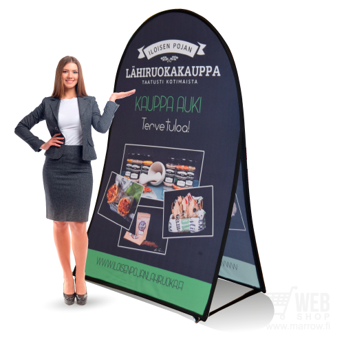 Vertical Pop-Up banner