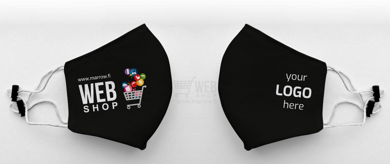 AD Mask - Safety kasvomaski omalla logolla