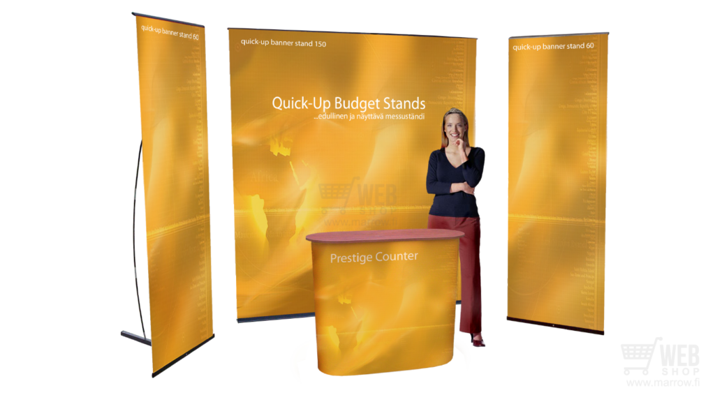 Quick-Up Budget Stand messuosasto