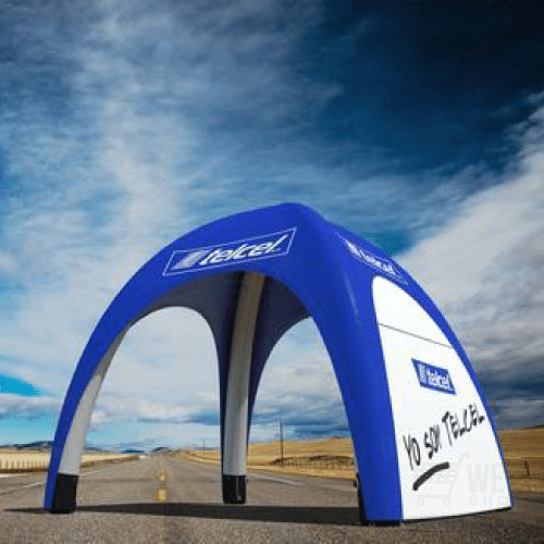 Quick-Up Air-tent