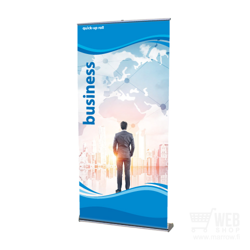 Quick-Up Roll Business 100 cm leveä roll-up