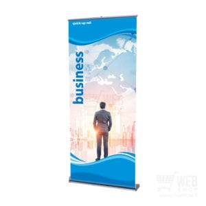 Quick-Up Roll Business 85 cm leveä roll-up