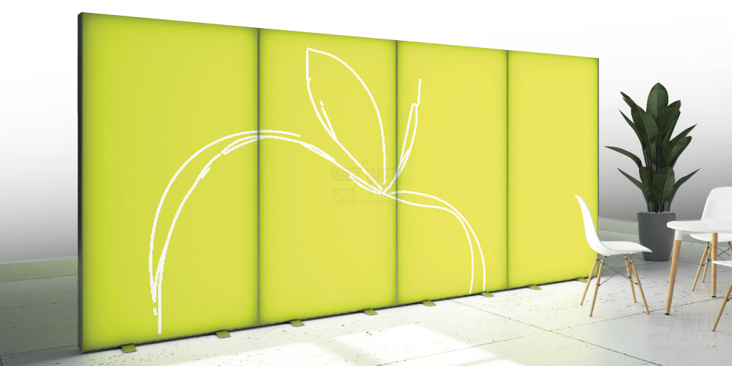 Expo -Lightbox wall